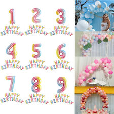 1st 2nd 3rd 4th 5th 6th 7th 8th 9th Happy Birthday Balloons Arch Set Party Decor
