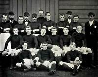 OLD PHOTO Football Circa 1896 The Hull Fc Team Pose Together