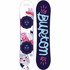 Burton Chicklet Kinder Snowboard Mädchen Flat Top verschiedene Längen NEU