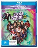 Suicide Squad 3D (3D Blu-ray/Blu-ray)  - BLU-RAY - NEW Region B