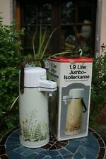 ''Jumbo''  Vintage Thermos Vacuum Pump 1.9 L  made in Japan from '70-'80   #1