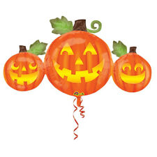 Halloween Mignon Triple Potiron Ballon Plat Super Forme Grand