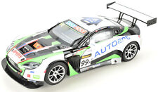 "Scalextric ""AutoArt"" Aston Martin Vantage GT3 W/ Lights & Digital 1/32 Slot Car"