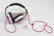 "genuine monster studio <ne translation=""$num"" entity=""1.0"">$num</ne> beats by dre wired headband headphones pink read first"