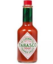 4 x Tabasco Sauce 350ml Bottle Pepper Sauce Original Red Flavour McIlhenny Co