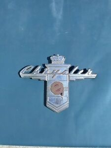 1946 1947 1948 Chrysler Trunk Emblem, 46 47 48