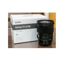 Sigma 50mm f1.4 DG HSM Art Canon EF Ship From EU
