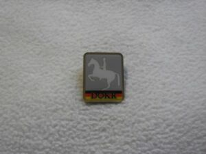 Tokyo 2020 - Germany Equestrian Federation DOKR pin model-1