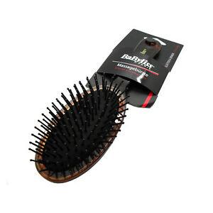BaByliss Plastic Vintage Effect Bristle Massage Hair Brush for Ladies Women Girl