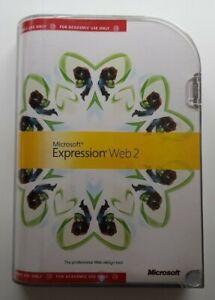 Microsoft: Expression Web 2 for Windows - DVD ROM