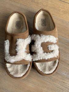 UGG LOGO SLIPPERS/SLIDERS Size Uk4.5/37