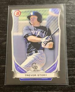 Trevor Story Prospect Black 2014 Bowman TP-74 Colorado Rockies