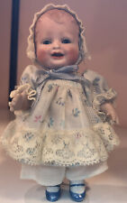 "~Antique 4.75"" All Bisque Bonnie Babe Character Toddler Doll~"