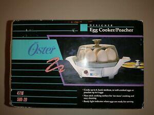 Oster designer Egg Cooker Poacher 4716 580-20