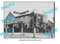 OLD 6 X 4 PHOTO COBARGO BUTTER FACTORY c1900 NSW