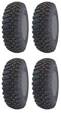 Four 4 GBC Kanati Terra Master ATV Tires Set 2 Front 27x10-14 & 2 Rear 27x11-14