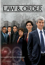 DVD: Law & Order: The Twentieth Year, . Good Cond.: Linus Roache, Alana De La Ga