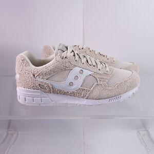Size 11.5 Men's Saucony Shadow 5000 Sneakers S70442-2 Tan/White