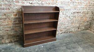Vintage Mahogany and Oak Bookshelves Bookcase Shelves