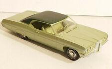 VINTAGE 1970 MPC GREEN PONTIAC BONNEVILLE Car PROMO MODEL