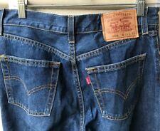 LEVIS Mens Jeans 538 Red Tab Blue Denim Tapered Leg W29 L33 EUC