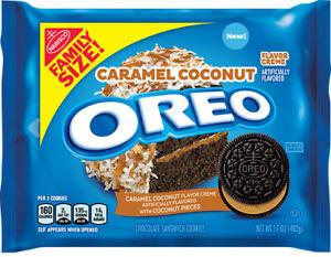 Oreo Kekse - Caramel Coconut - 482 g -Family Size