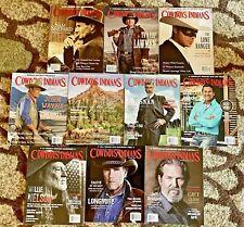 Huge Lot 10 Cowboys & Indians Magazines 2006-2017 (MAG LOT 2)