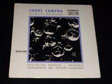 33 TOURS  LP - ANDRE CAMPRA - LES FESTES VENITIENNES - COLLEGIUM AUREUM