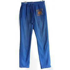 "Abercrombie & Fitch Men Sweatpants Size XS ( 28-30 ) 39"" long, 30"" inseam Blue"