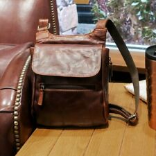 NWT $188 Jack Georges Voyager Slim Leather Crossbody Handbag