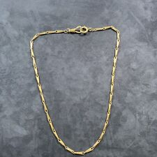 Watch Chain Necklace Antique 14k Gold Albert