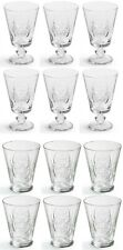 12 PCS glassware SET HEDONE VINTAGE red wine glasses + drinking glasses tumblers