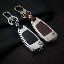 Leather Car Key Cover Case For A1 A3 A4 A5 Q3 Q5 Q7 A6 C5 C6 A7