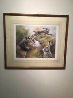 Mick Cawston, HARE & LURCHER  Limited Edition Print 233/850