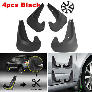 For Car SUV Accessories Mud Flaps Mud Guards Splash Flares 4 Piece Front Rear