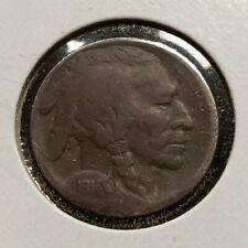1914-S 5C Buffalo Nickel - Better Date - SKU-AL38