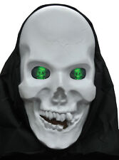 Hologram Moving Eyes Creepy Skull Halloween Costume Mask