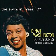 The Swingin' Miss D by Dinah Washington/Quincy Jones (CD, Oct-2011, Phoenix...