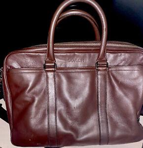 Authentic Coach Metropolitan Slim Brief in Sport Calf Leather