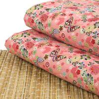 BUTTERFLY Butterflies Kids Nursery Novelty 100/% Pure Cotton Quilting Fabric FQ M