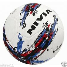 """NIVIA Football """"Storm"""" White Size 5 - Rubber Molded"""