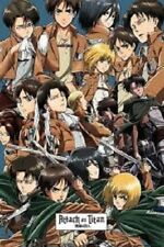FUNIMATION ANIME ATTACK ON TITAN COLLAGE POSTER 22X34 FREE SHIPPING