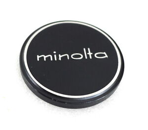 52mm Minolta Lens Cap - Genuine - Metal Slip On - EXCELLENT