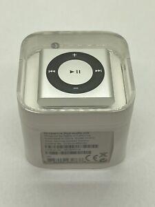 Apple iPod Shuffle - 4. Generation Silver 2 GB 2010 Model MC584 Collector