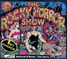 THE ROCKY HORROR SHOW - RICHARD O'BRIEN, TIM CURRY / CD - TOP-ZUSTAND