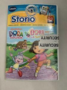VTech Storio Dora the Explorer Software Learning Game - Dora & the 3 Little Pigs