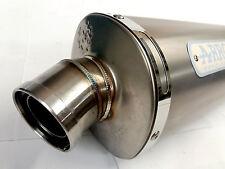 ARROW Slip On Exhaust kit / Trioval titanium Homolog. KAWASAKI Z 750 04-06