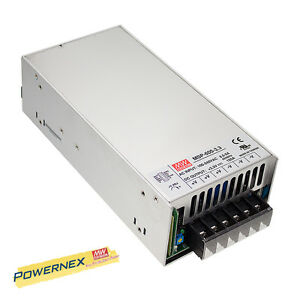 [POWERNEX] MEAN WELL NEW MSP-600-5 5V 120A 600W Single Output Medical Type