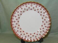 "Spode Red Fleur de Lys Dinner Plate 10¾"" Y7481"