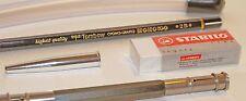 Tombow Mono100 2B pencil drawing kit. Kutsuwa, Stabilo.